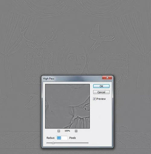 photoshopps合成创意动物舞台场景