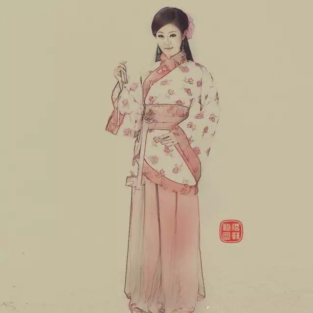 教你ps中国风工笔画