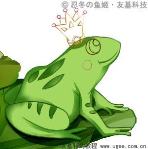 青蛙萌萌微信头像