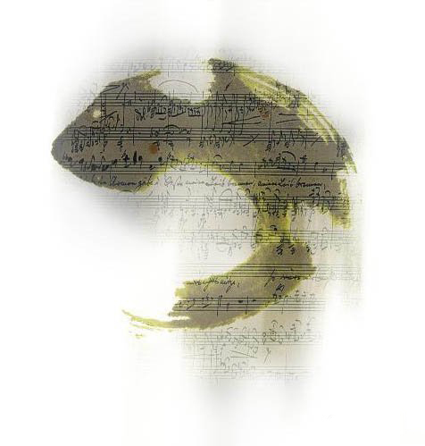 PS设计漂亮的江南水乡水黑画签名