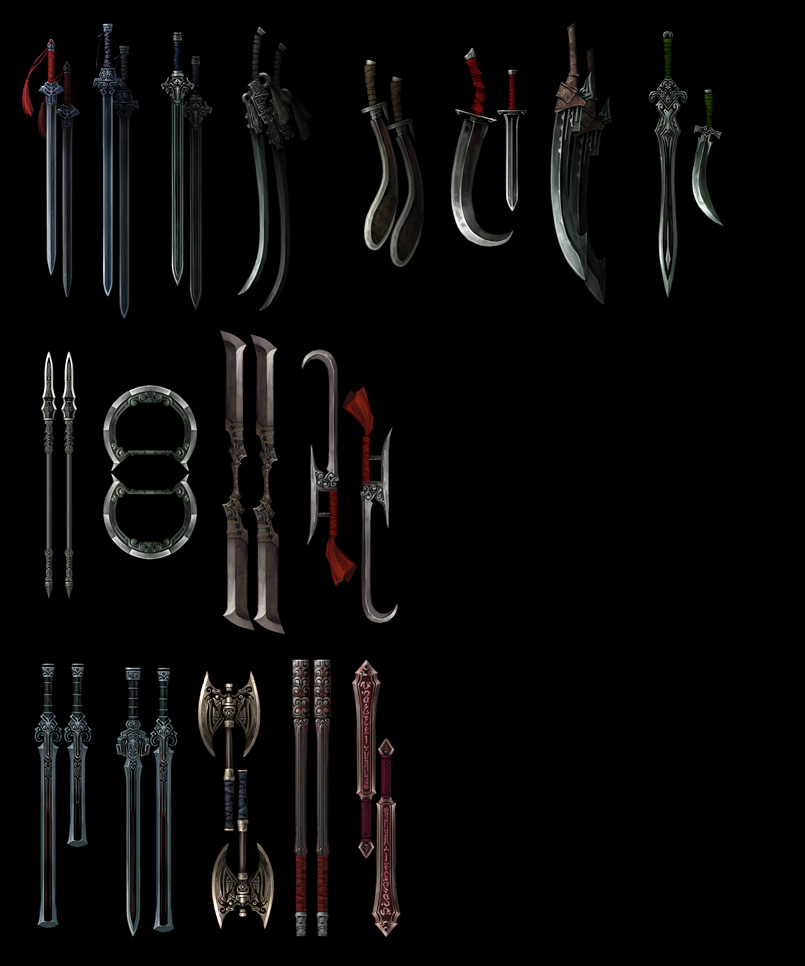 《剑侠情缘3》全套美术资
