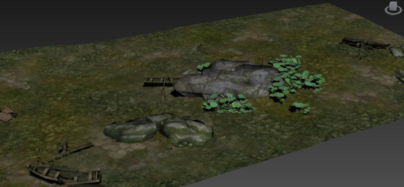 《斗战神》游戏场景物件3D模型合集