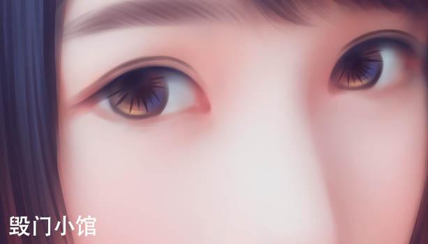 转手绘_photoshopsai结合ps萌妹子带梦幻感