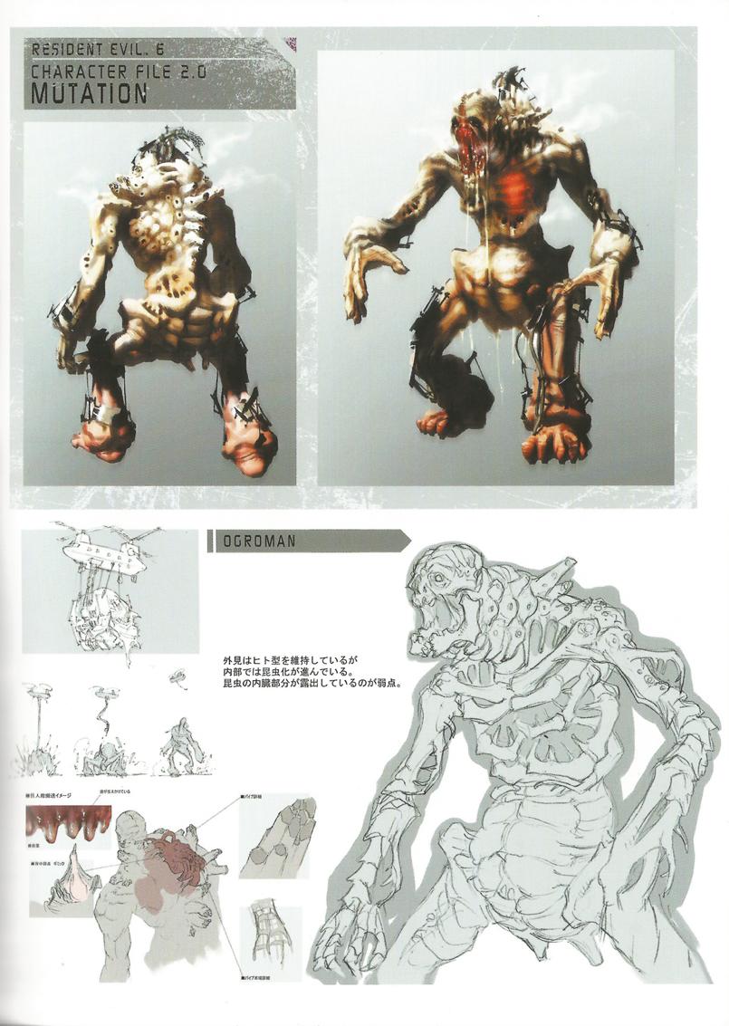 《生化危机6》游戏官方设定集