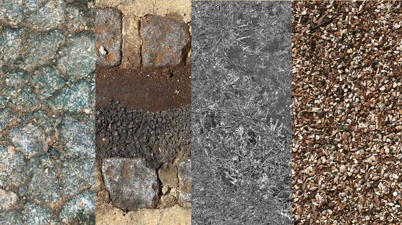道路石料贴图106P