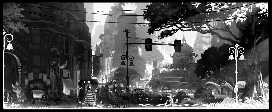 《疯狂动物城》100余张场景设计原画惊艳曝光