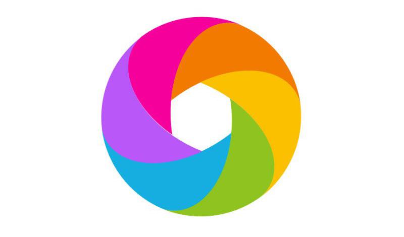 Photoshop用PS设计简洁的彩色圆环LOGO 翼狐网
