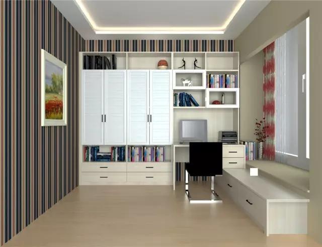 簡約時尚的流暢造型設計,給人帶來自然舒適的視覺效果;置頂滿墻書柜