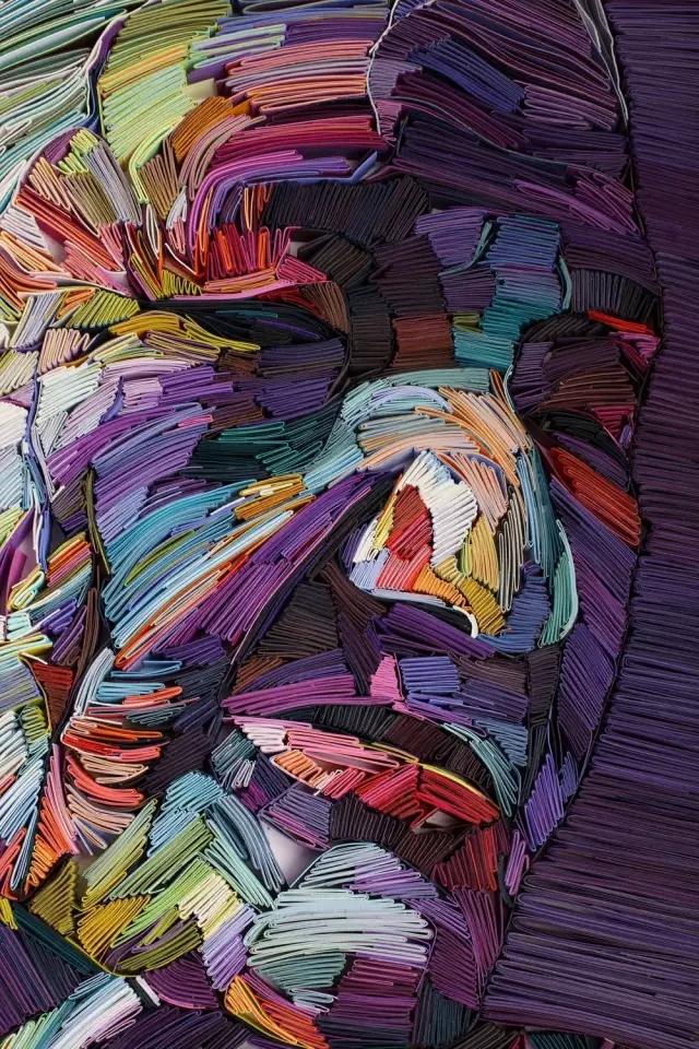 设计资讯 创意来源 生机勃勃的三维立体折纸艺术品