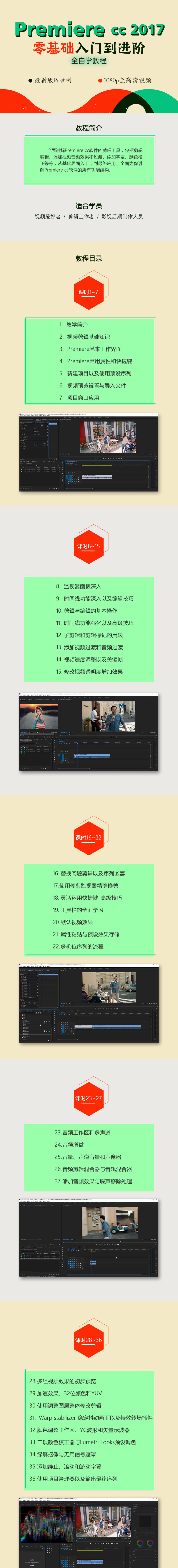 Premiere CC 2017 零基础入门到进阶全功能教程.jpg