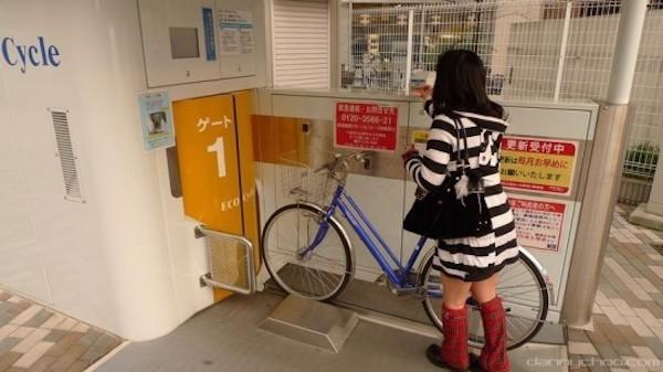 日本地下停车库
