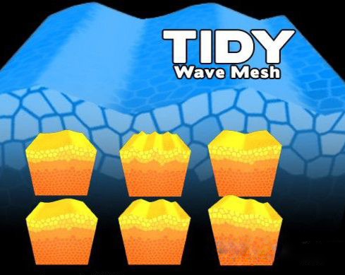 Tidy Wave Mesh 1.1 unity3d 海浪生成工具