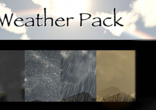 Ians Weather Pack unity3d天气魔法师插件