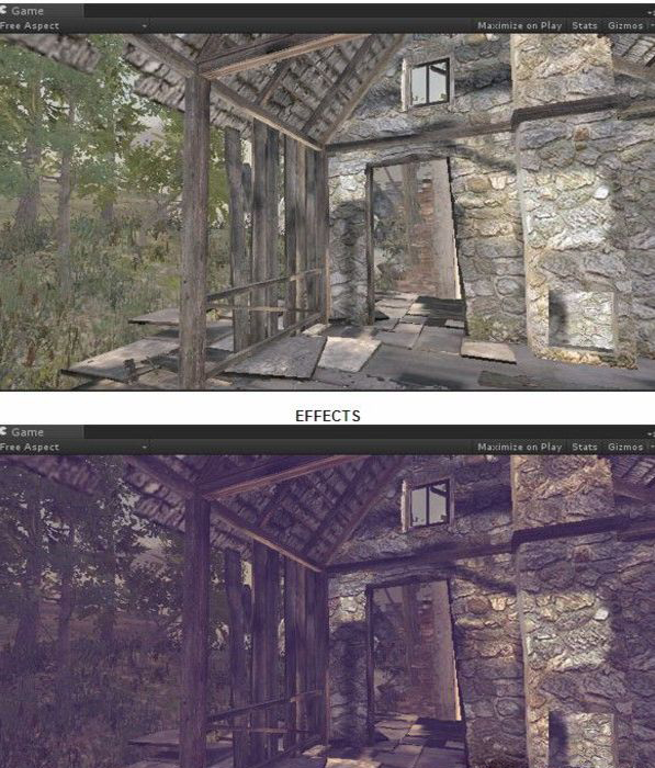 Aubergines PostProcess Effects unity3d屏幕特效插件