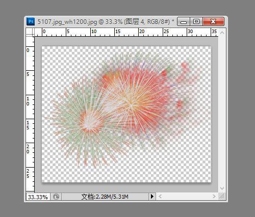 然后隐藏红色图层,将绿色,蓝色通道按此方法建立相应纯色填充图层,如