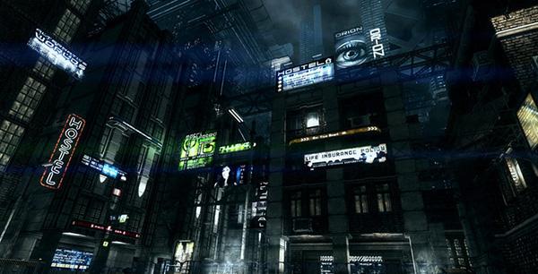 unity3d城市夜晚场景Dark City黑暗城市