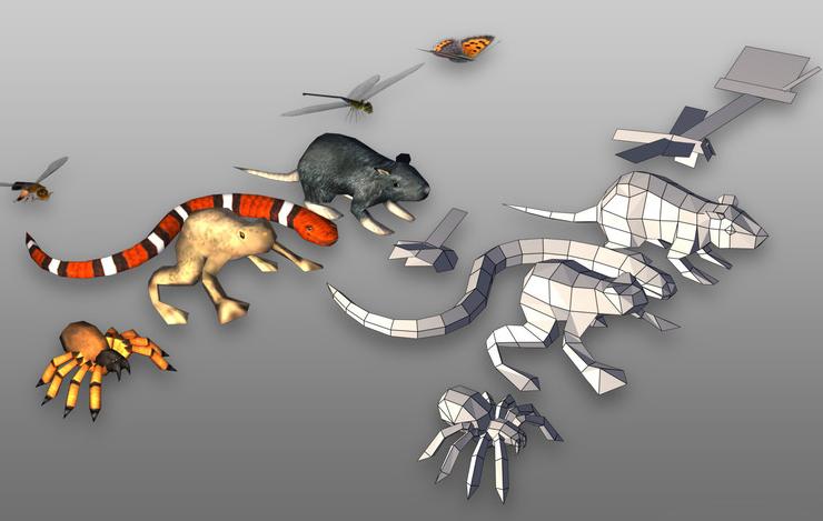 Critter Pack 1.85 - 小动物合集