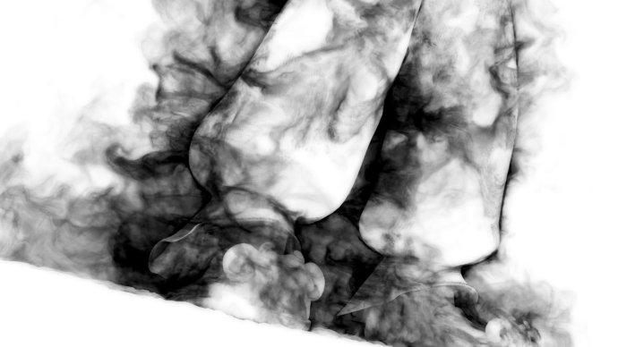 nuke中半透明烟雾素材的合成技巧