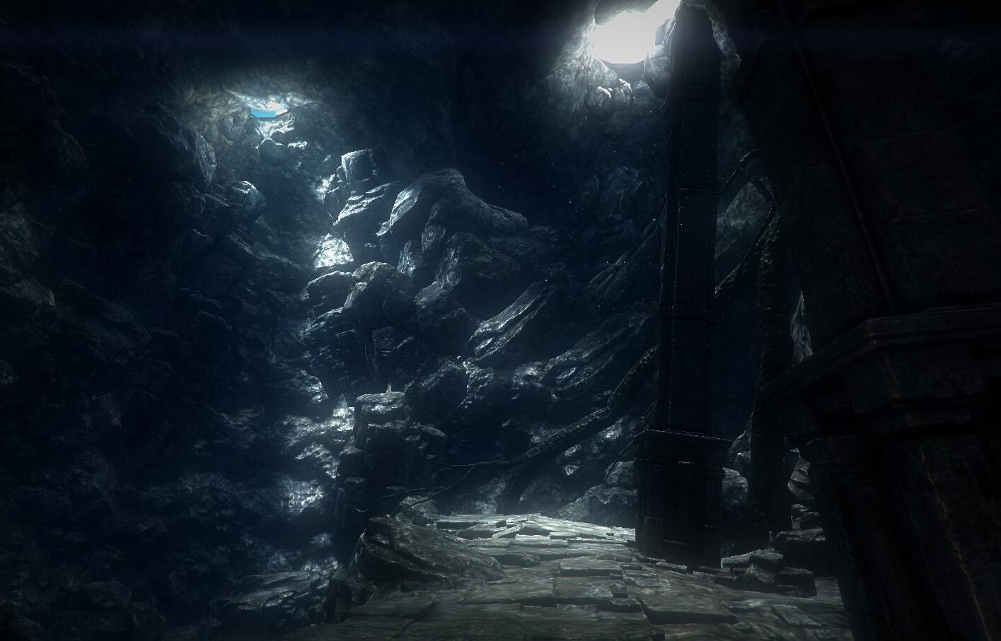 Underworld Cave Environment unity3d