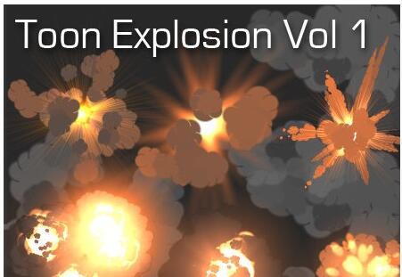 Toon Explosion Volume 1 - 卡通爆破效果插件