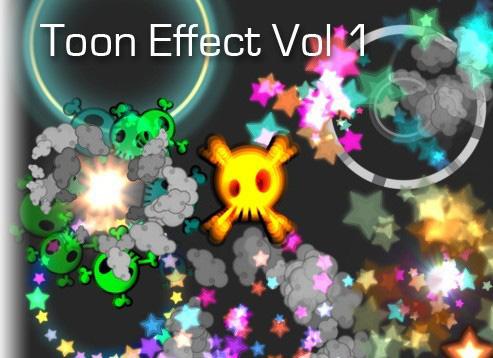 Toon Effects Volume 1 unity3d卡通特效制作插件
