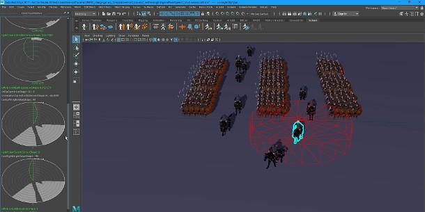 Maya人群模拟集群仿真插件Golaem 6