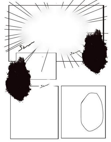sai漫画框架:sai图文轻松v漫画教程漫画教程漫画软件类热血魔的神图片