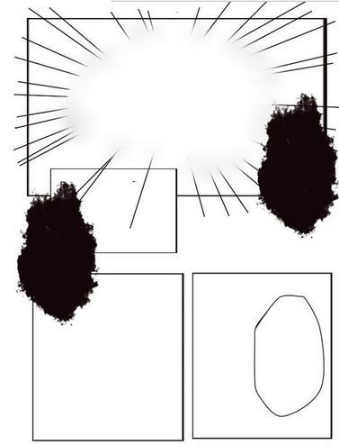 sai框架漫画:sai图文轻松v框架漫画教程软件漫画教程忍影图片