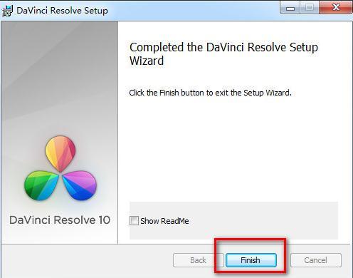 达芬奇调色软件davinci安装教程