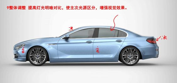 keyshot汽车渲染教程