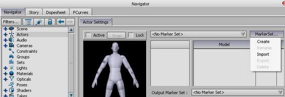 motionbuilder动画教程:motionbuilder动作数据文件的导入