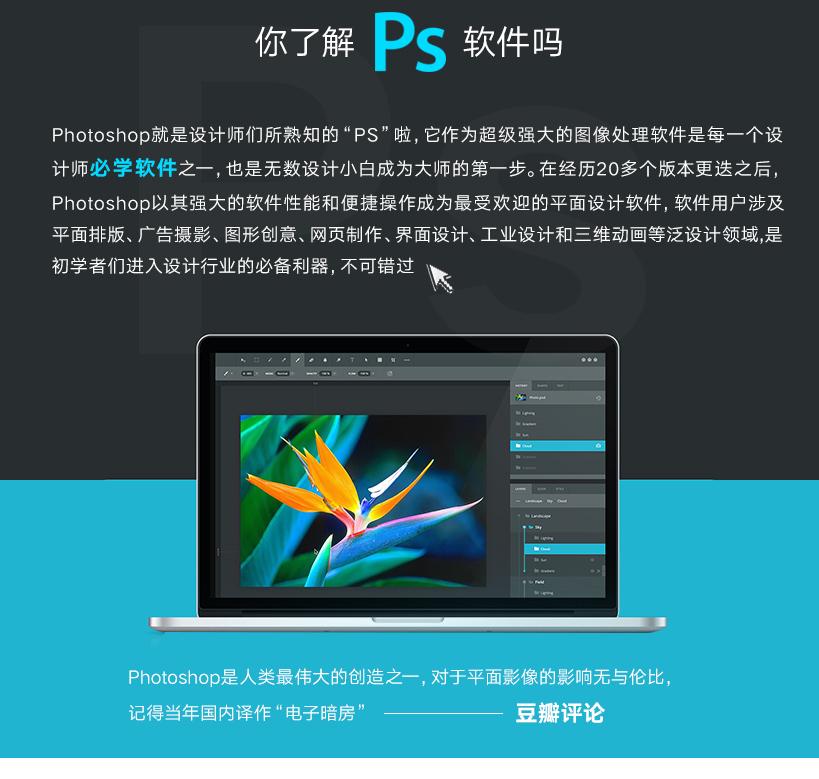 Photoshop零基础快速入门视频教程