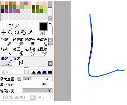 sai线稿教程:如何使用sai画线稿