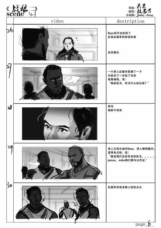 40亿票房《战狼2》背后的分镜师 张一鸣专访