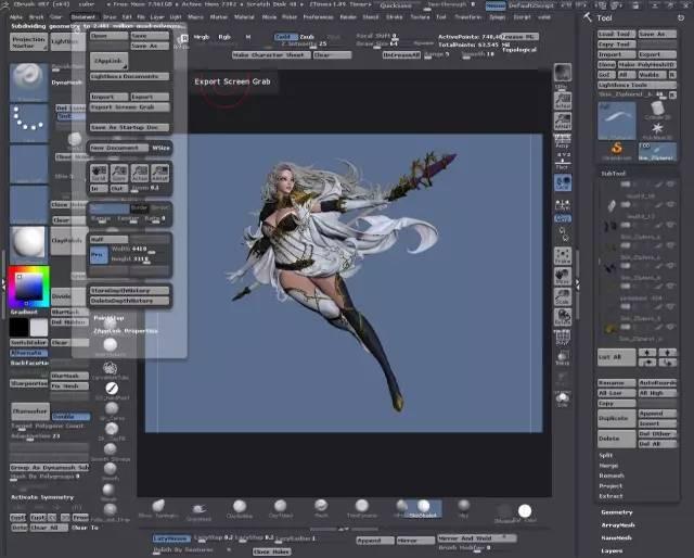 3D建模师vahid ahmadi女神作品欣赏