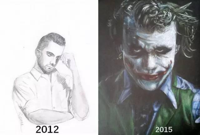,还记得你的第一幅画,有多丑