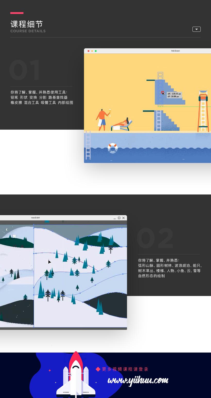 AI文艺风格插画全案例教程