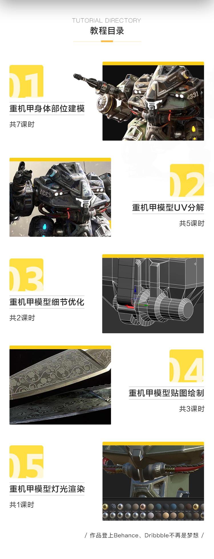 3dsmax重装机甲战士实例教程中文字幕