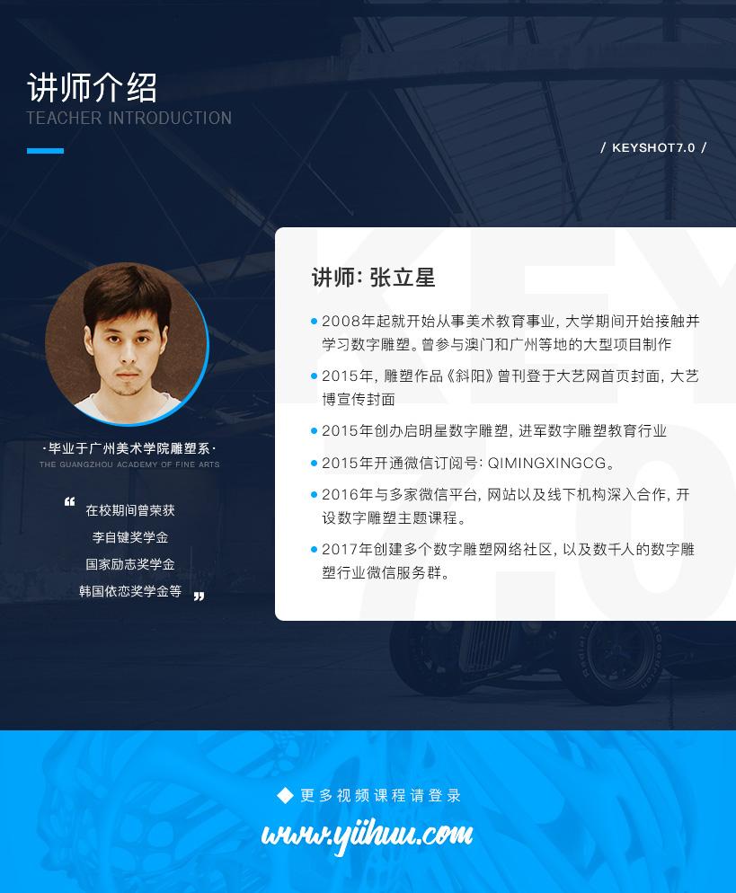 KeyShot7.0基础入门到进阶渲染案例教程