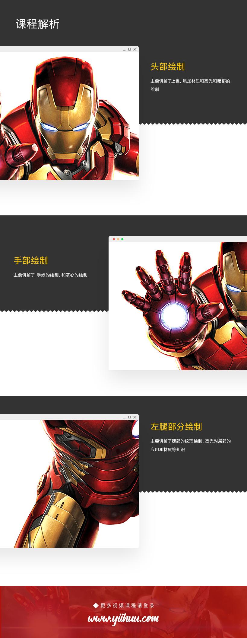 Photoshop超写实钢铁侠案例实战教程