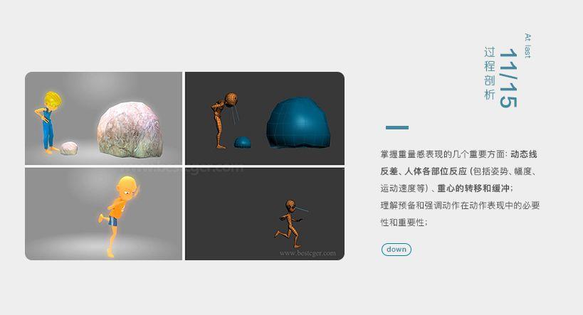 15个实用的三维动画概念和指导方法案例视频教程