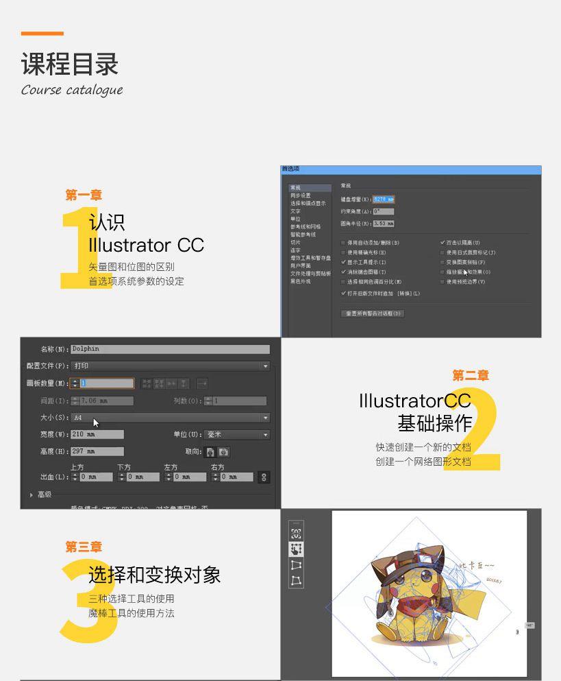 illustrator CC基础入门到精通实例教程