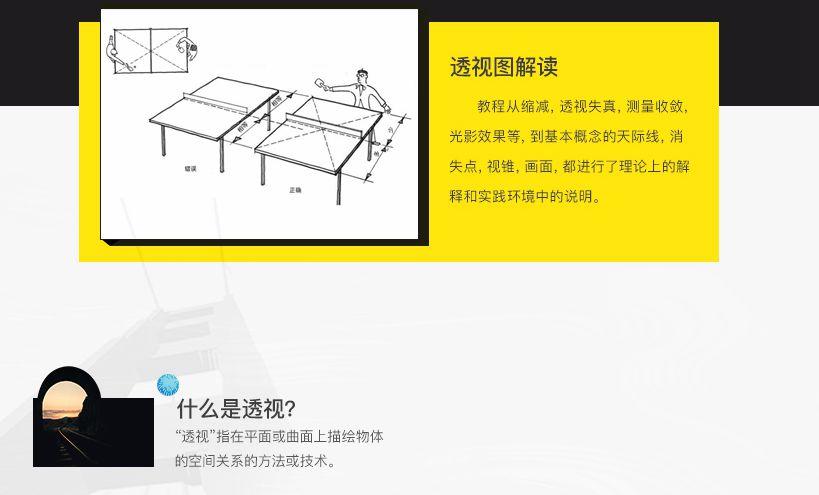 透视基础入门中文系统教程