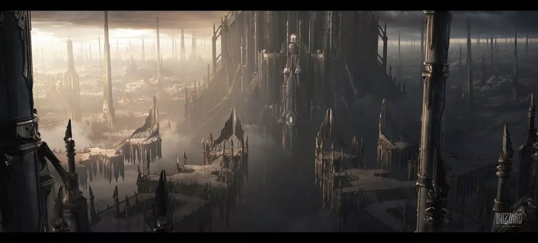 【Blizzard暴雪娱乐】大作中的场景竟然是这样画出来的!