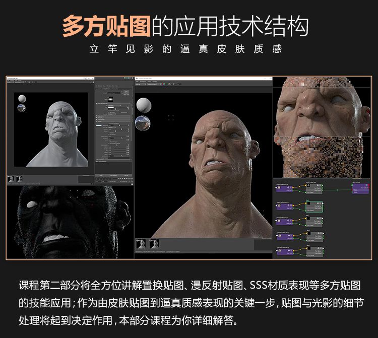 超写实角色皮肤毛发进阶案例中文教程