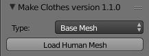 Make human中MakeClothes插件使用详解教程