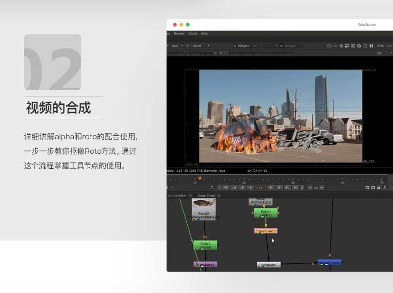 NuKe10视频的合成