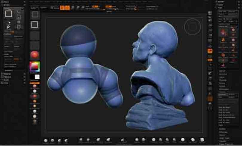 zbrush硬表面雕刻技术技巧之真实体块和物理现象