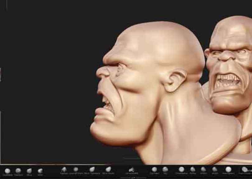 zbrush硬表面雕刻技术技巧之配置工具
