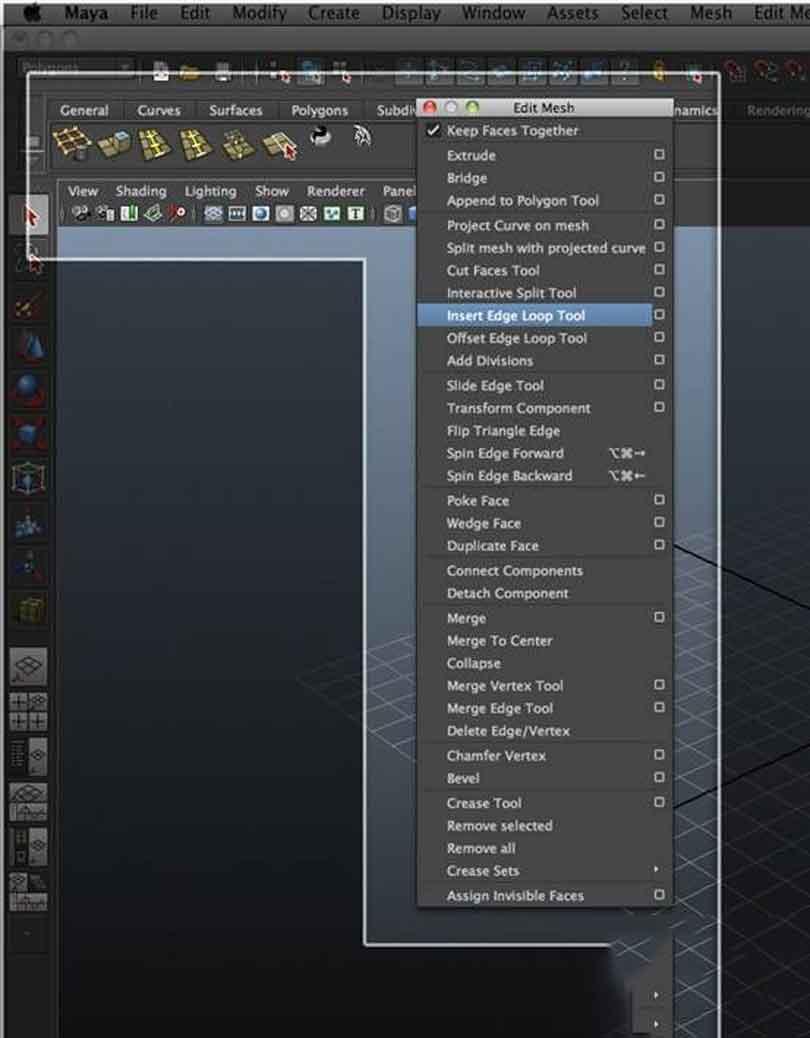 Maya硬表面建模之添加常用的建模功能